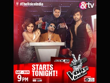 The Voice India HR Mika Singh Sunidhi Chauhan Shaan as judges make for a wowtastic show