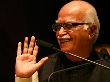 Another dig at Modi BJPs Advani says hes against oneman shows