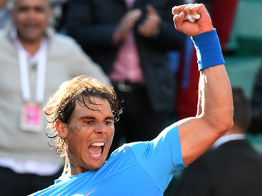 French Open Defending champion Rafael Nadal enters quarters Maria Sharapova crashes out