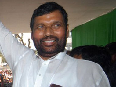 Grand alliance government will not last long, says Ram Vilas Paswan
