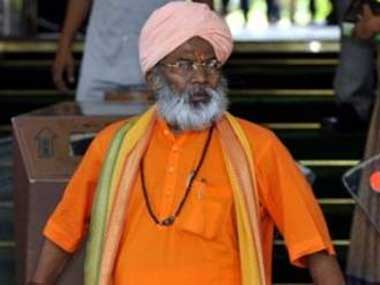 BJP MP Sakshi Maharaj. Agencies
