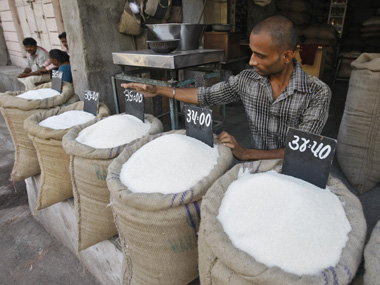 Indias sugar production declines 22 to 233 lakh tonnes in six months ended March on lower cane output