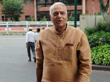Yashwant Sinha says relating lynching with beef and giving it communal colour not always right