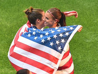 Womens World Cup Carli Lloyds hattrick sinks Japan helps USA clinch title