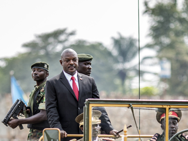 Burundi's president skips talks amid crisis to campaign for third term