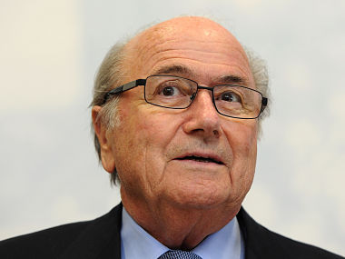 File picture of Sepp Blatter. Getty