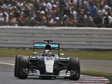 British Grand Prix live: Hamilton on pole at British GP, Rosberg pleased to miss out