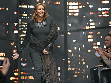 Donna Karan stepping down as chief designer for her company DKNY