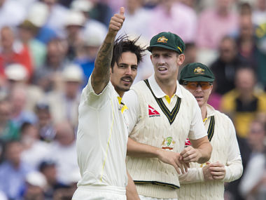 Ashes 2015: Johnson becomes fifth Australia bowler to scalp 300 Test wickets