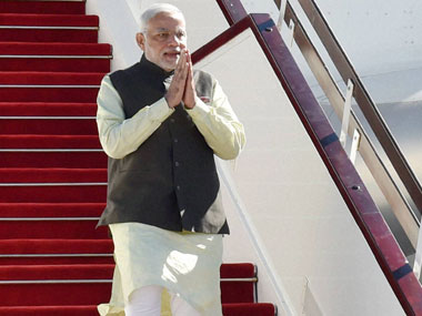PM Modi arrives in Uzbekistan on first leg of 8-day visit to central Asia, Russia