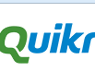 Screengrab from Quikr website.