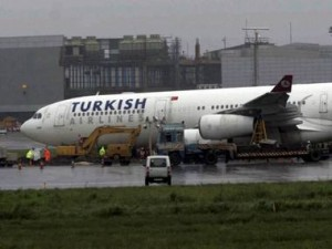 Grounded for 13 hours after bomb threat, Turkish Airlines flight leaves for Istanbul