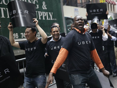 Uber offered free rides to customers who wanted to attend its New York protest