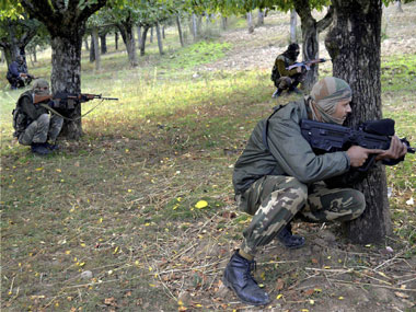 Army foils infiltration attempt by 3 armed militants in Jammu and Kashmir