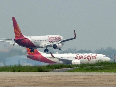 Spicejet shares tank 8 in morning trade after DGCA bans Boeing 737 MAX 8 planes Jet Airways stock plunges too