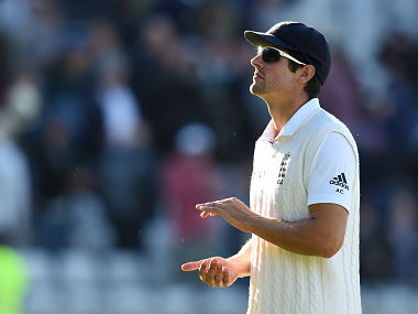 England captain Alastair Cook. AFP