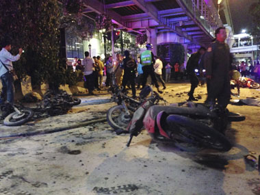 Thai police question Uighur trio over Bangkok blast