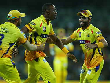 File picture of Chennai Super Kings players. Sportzpics
