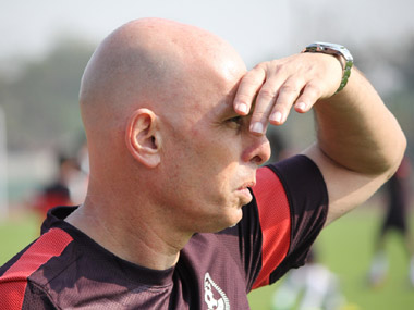 Indian head coach Stephen Constantine. AIFF