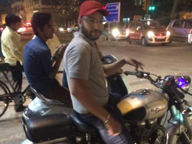 She just wanted to be famous claims biker arrested for abusing Delhi woman Jasleen Kaur