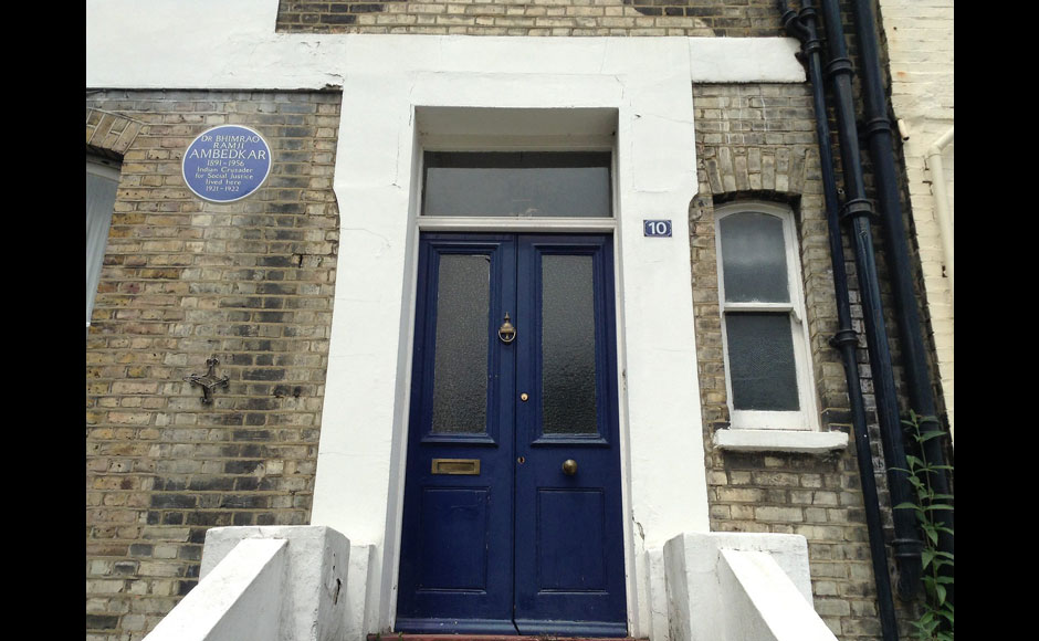 This is Dr Ambedkar's house in London which Maha govt bought for 3.1 million