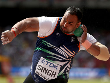World Athletics Championships Inderjeet finishes last in shot put finals Baljinder 12th in race walk