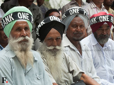 Govt rules out yearly pension revision under OROP: Ex-servicemen say ready for biennial