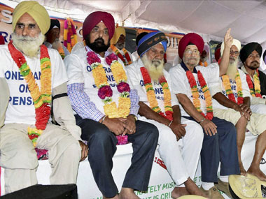 OROP row intensifies: Two more veterans shifted to hospital