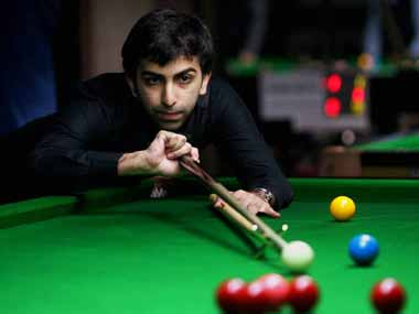 File picture of Pankaj Advani. PTI