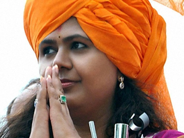 File photo of Pankaja Munde. PTI
