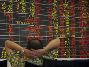 Asian share markets relieved as China data point to recovery dollar surges