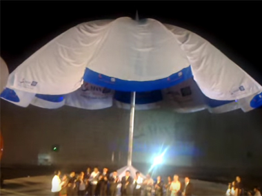 China breaks India's Guinness World Record for largest umbrella