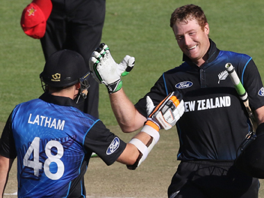 Centurions Guptill, Latham help New Zealand crush Zimbabwe by 10 wickets
