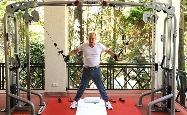 Vladimir Putin's latest edition of manly photo shoots