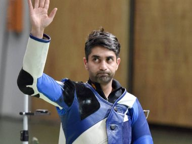 Abhinav Bindra wins gold in Asian Air Gun Championships