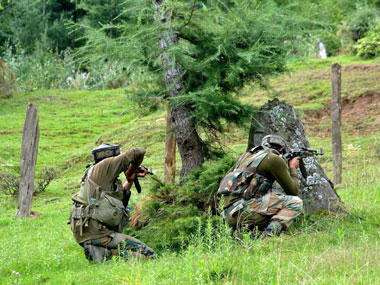 Infiltration bid along LoC foiled by army in north Kashmir two terrorists killed