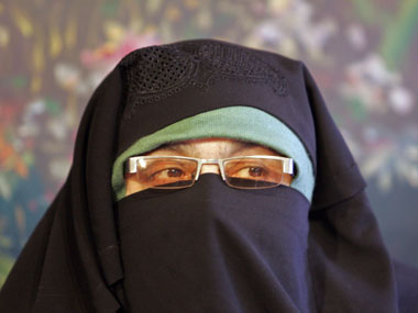 Asiya Andrabi 2 others remanded to 10day NIA custody Kashmiri separatist leader accused of waging war against India