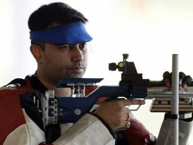 Gagan Narang finishes seventh in 50m Rifle Prone event, reaches second World Cup final in
