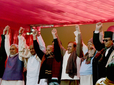 Samajwadi Party walks out of RJDJDUCongress alliance to contest Bihar elections on its own