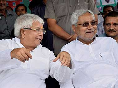 Bihar polls: Two surveys give majority to Grand Alliance