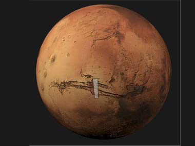 An image of Mars. Reuters