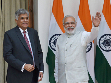 Wickremesinghes India visit could check Chinese influence in Sri Lanka