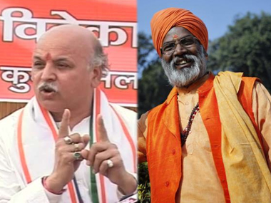 Pravin Togadia, Sakshi Maharaj stoke controversy, seek curbs on Muslims for 'population