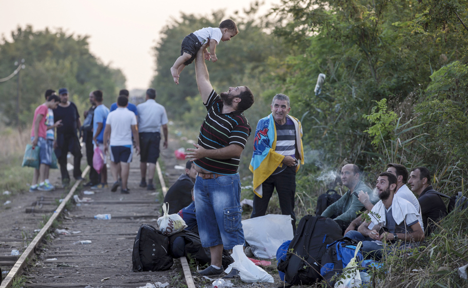 #PicOfTheLot: Migrants in Serbia