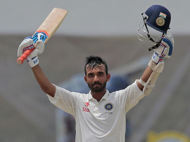 Rahane is a good No. 5 with his range of shots, ability to play with tail-enders: Dravid