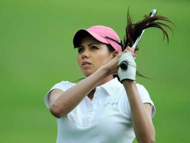 Golf: Sharmila Nicollet jumps into lead on day two at Jaypee Greens