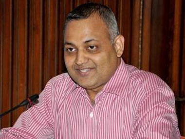 AAP ML Somnath Bharti. Image courtesy: Facebook