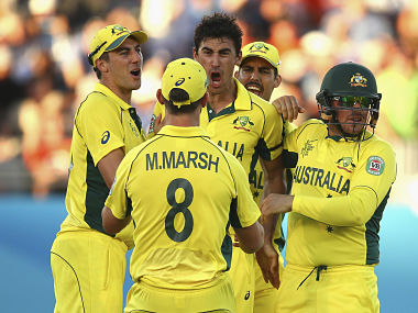 File picture of Australia cricketers. Getty