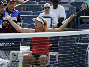 Watch: Racket smashing at its best as CoCo has an epic meltdown during US Open loss