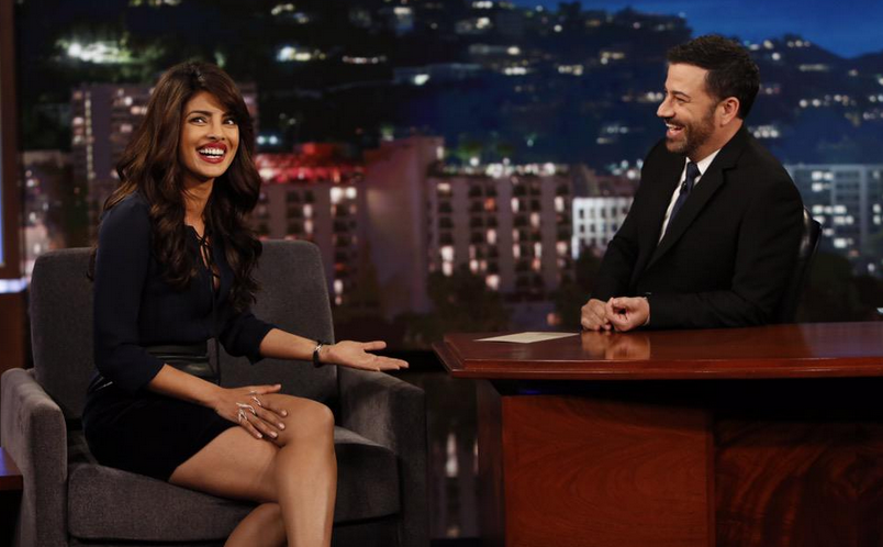 After Quantico's rave reviews, Priyanka Chopra wows audiences on Jimmy Kimmel Live